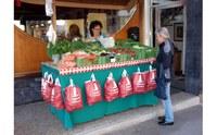 Frisches Gemüse aus der Umgebung